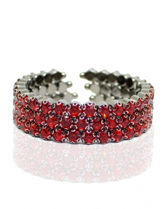Bratara bangle Swarovski Red