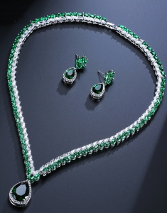 Set Swarovski Verde Luxury Spark