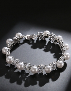 Bratara Imperiale Pearls cu Swarovski Elements