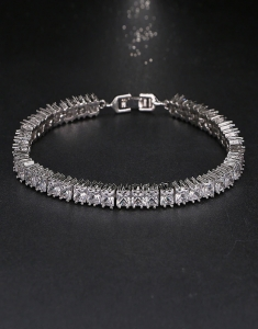 Bratara cu Swarovski Elements Cubic Diamonds